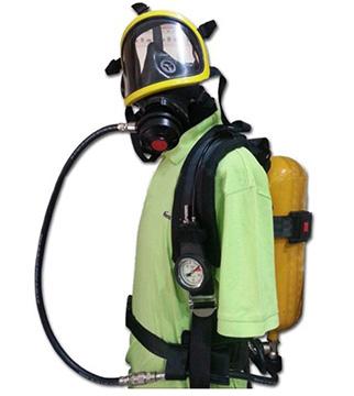 Mặt nạ phòng độc có bình thở oxi